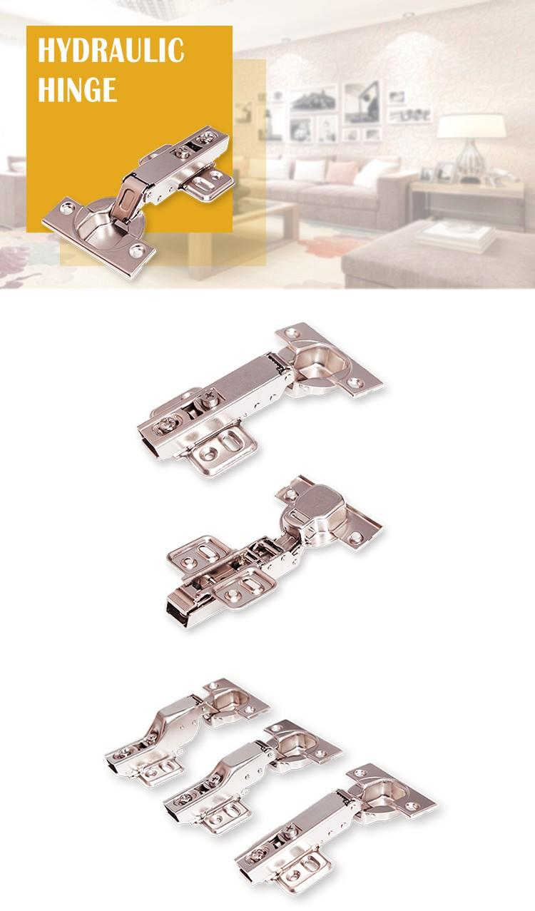 DIgao clip self closing cabinet hinges customization-1