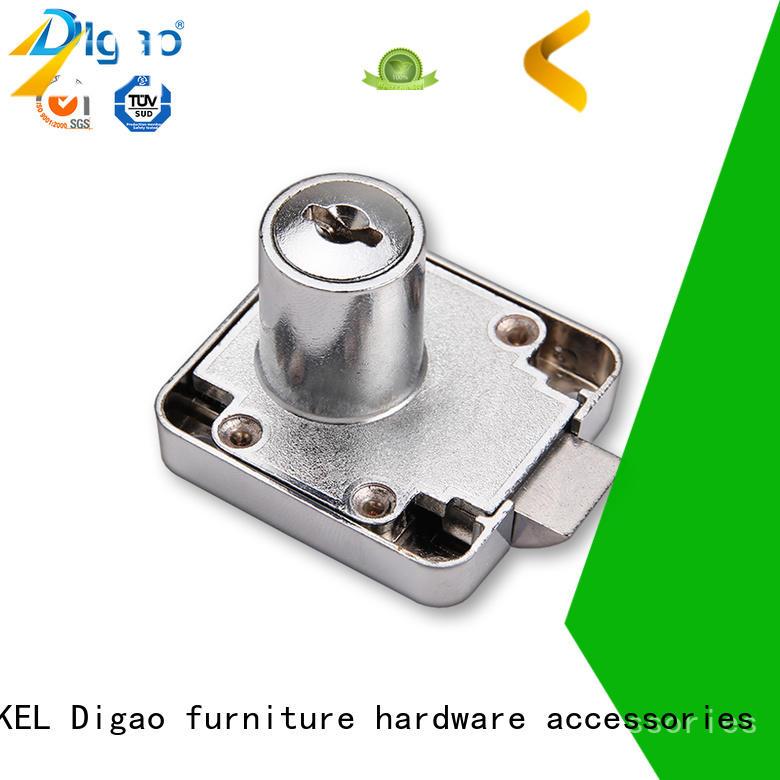 Office furniture cabinet drawer push lock wholesale chrome automatic lock