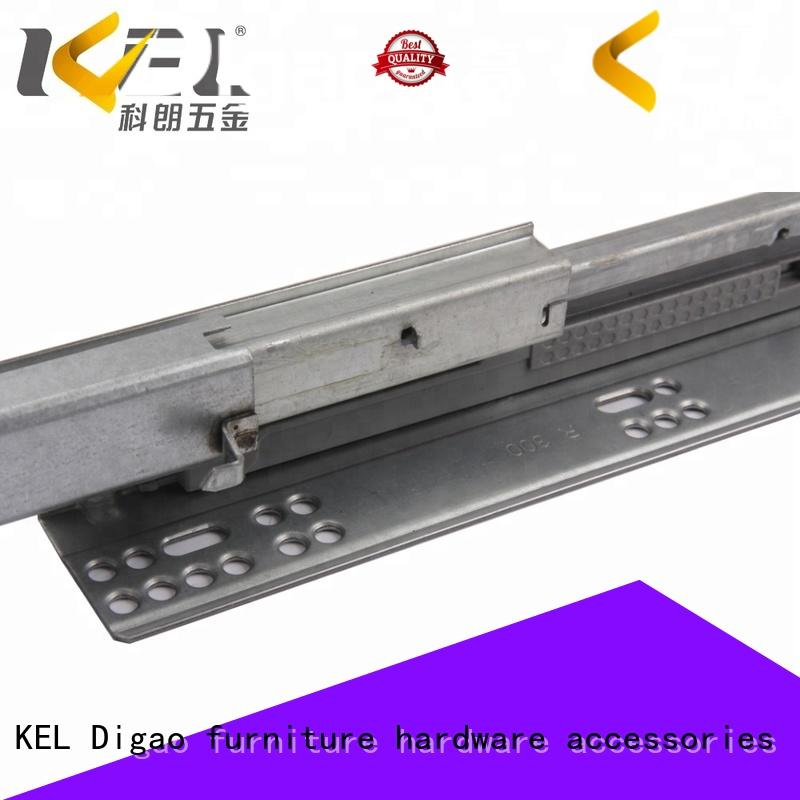 DIgao track soft close drawer glides for wholesale for drawer