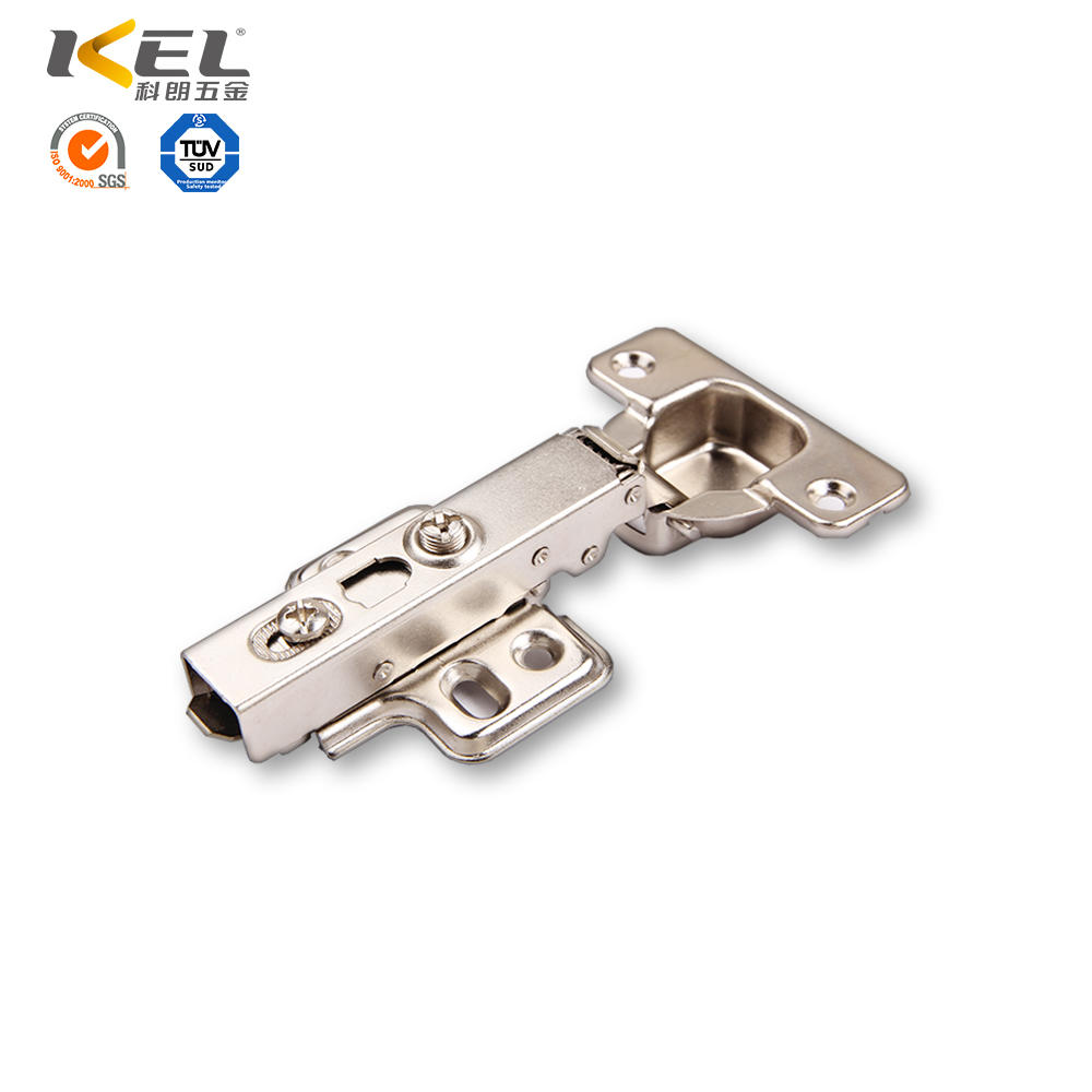 Two way self closing cabinet hinge clip on hydraulic detachable hinge