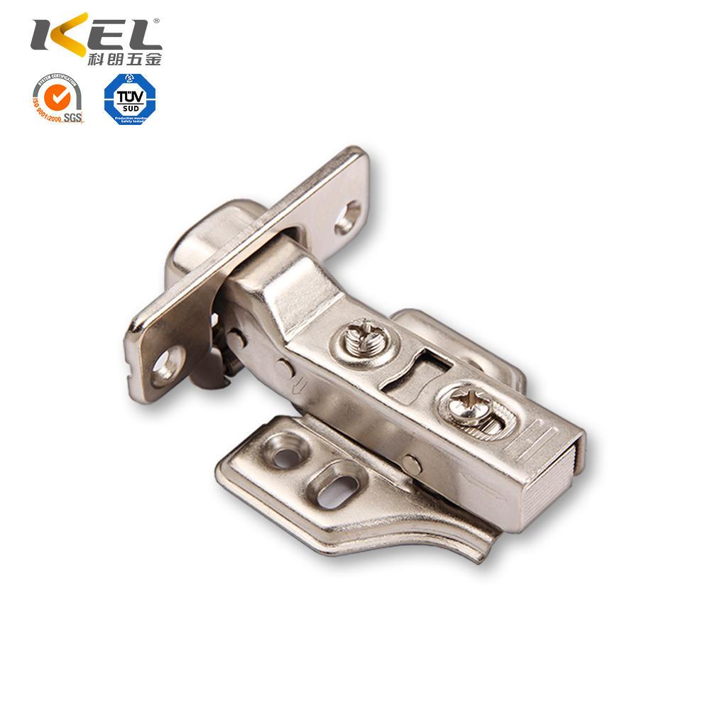 steel soft close/spring hinge for kitchen cabinet furniture hardware manufacturer