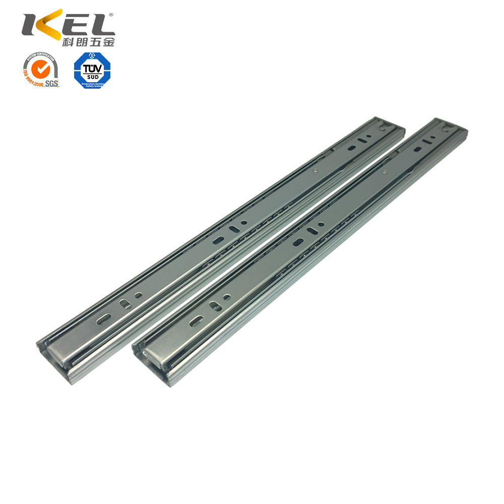 Classical Telescopic 3-fold Heavy Duty Soft Closing Ball Bearing Drawer Slide
