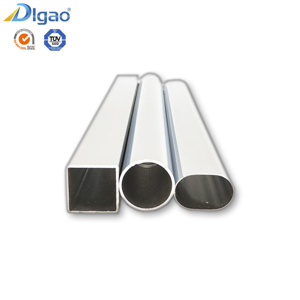 Chrome plated tube small diameter seamless steel pipe cupboard galvanized square pipe
