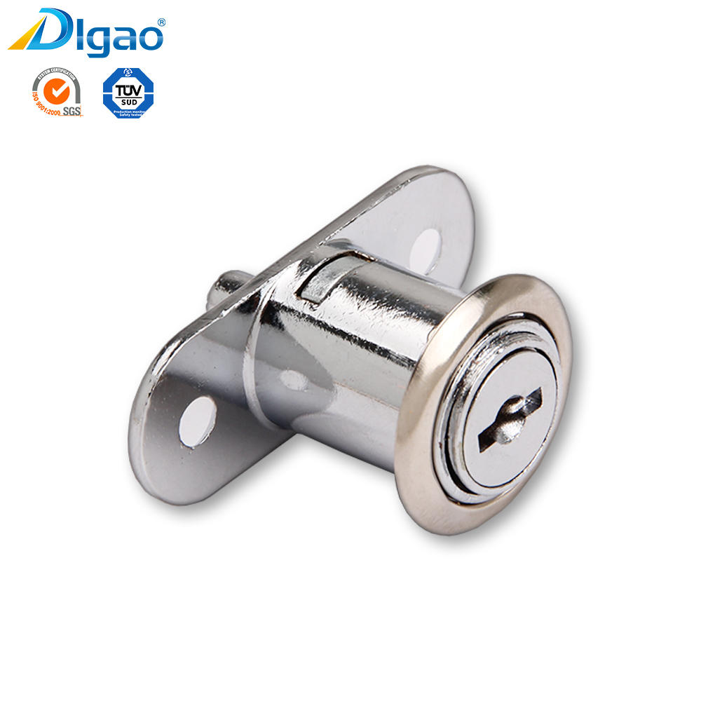Digao Durable 105 Zinc Alloy Furniture Showcase Plunger Glass Push Lock