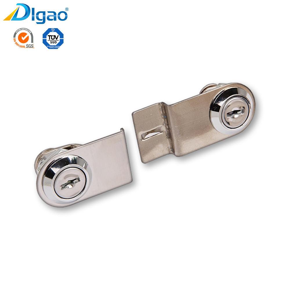 Chinese furniture accessories kitchen double door locks wholesale merchant master key drawer lock