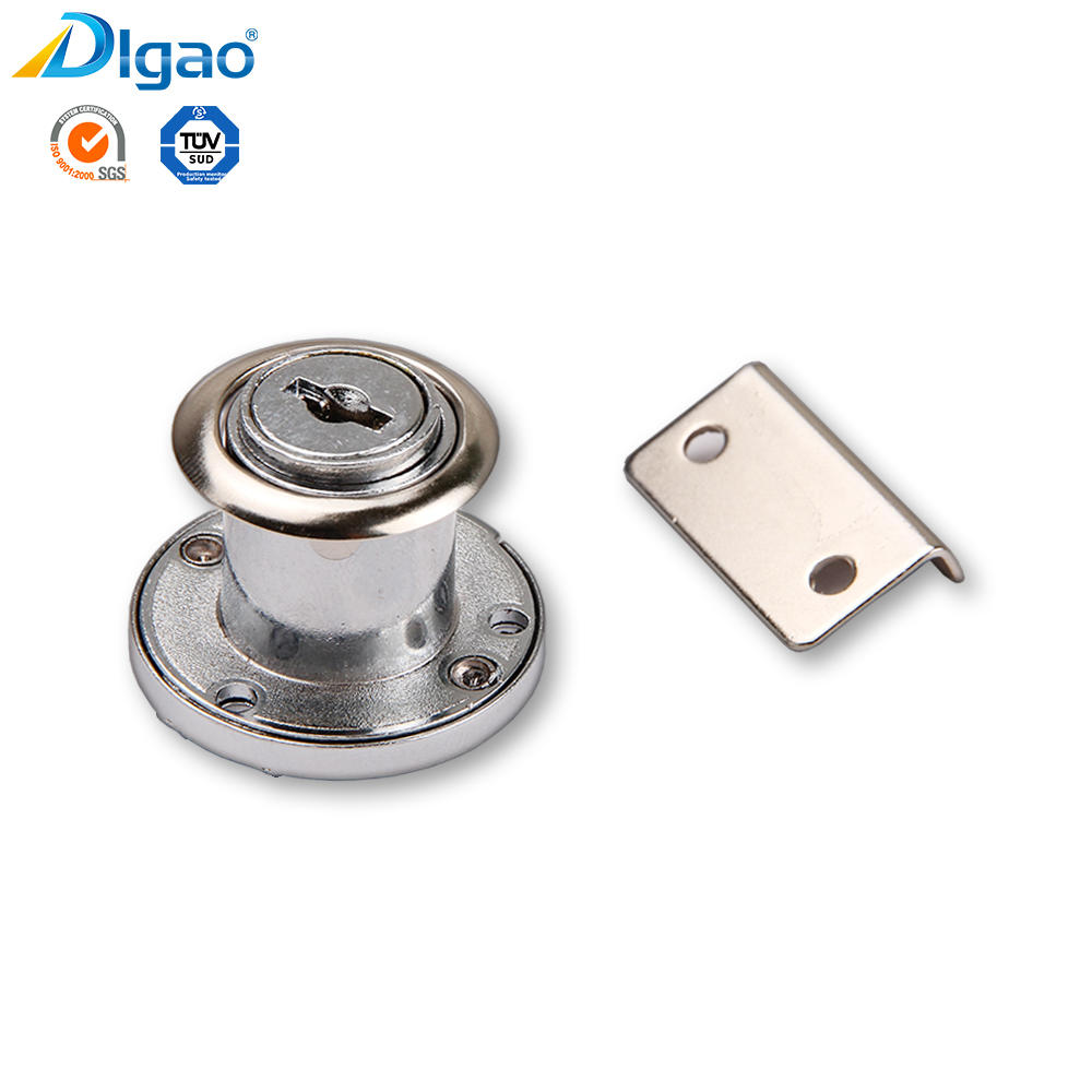 Zinc alloy furniture accessories kitchen cabinet lock manufacturer double door cabinet lock door locks