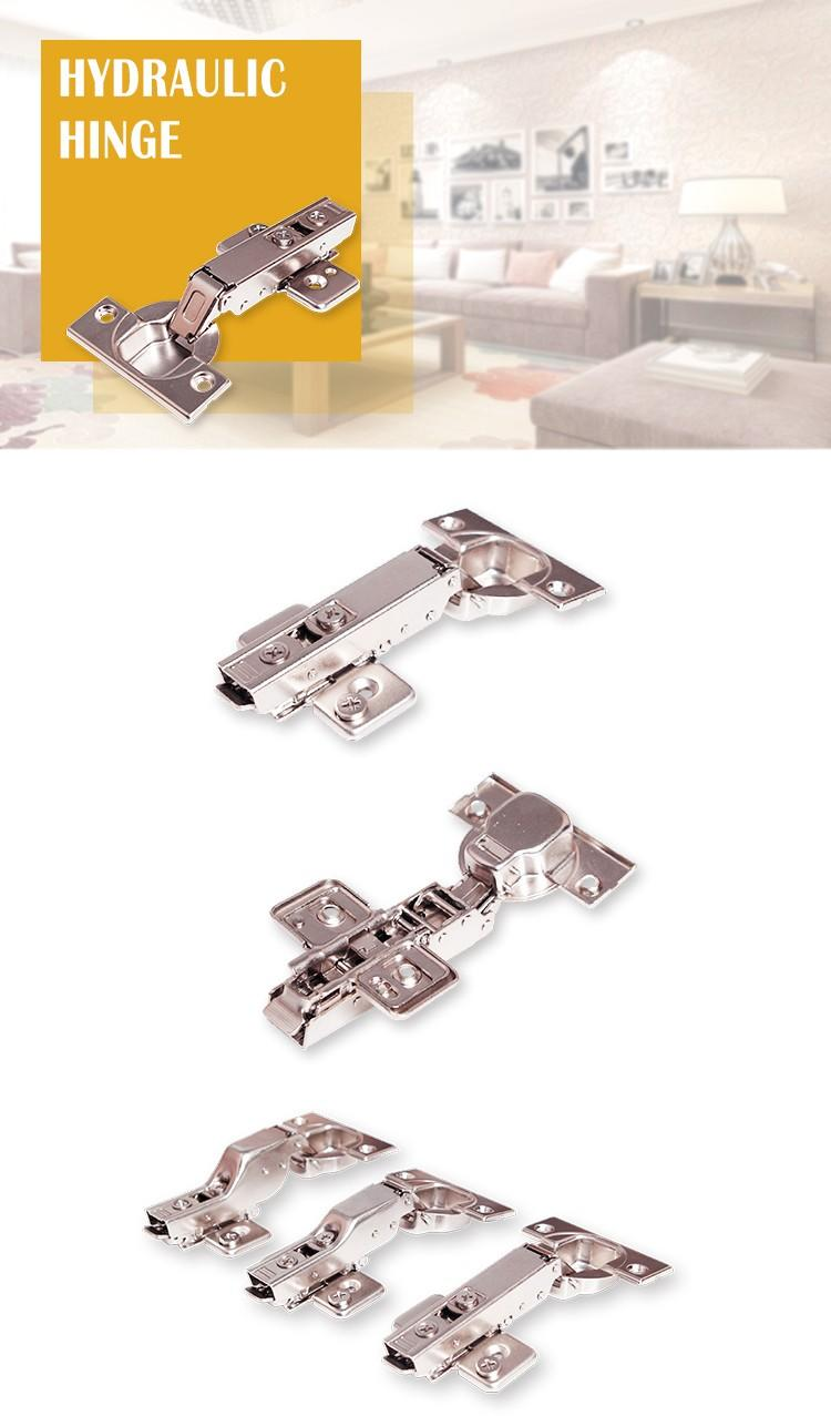 latest hydraulic hinges furniture for wholesale steel soft close