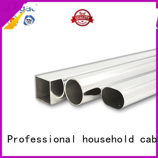 DIgao pipe wardrobe rail free sample Chrome Plated Furniture