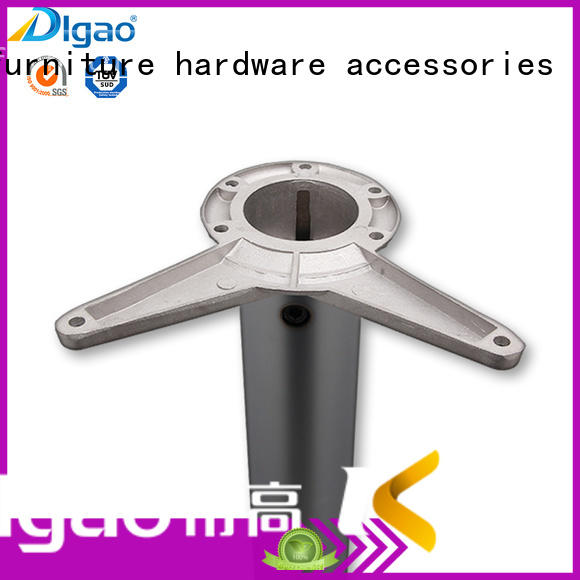 DIgao high-quality chrome furniture legs free sample office table