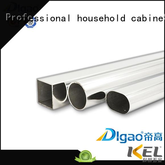 DIgao oval wardrobe rail free sample Chrome Plated Furniture