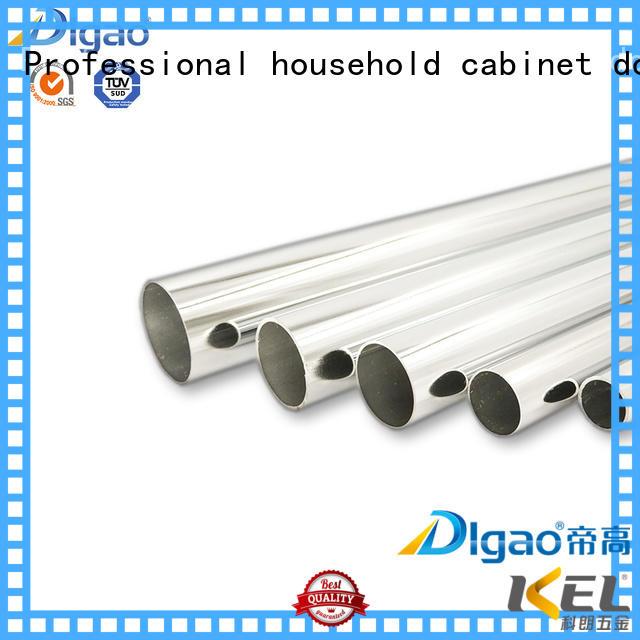 DIgao tube adjustable wardrobe rail customization for wardrobe