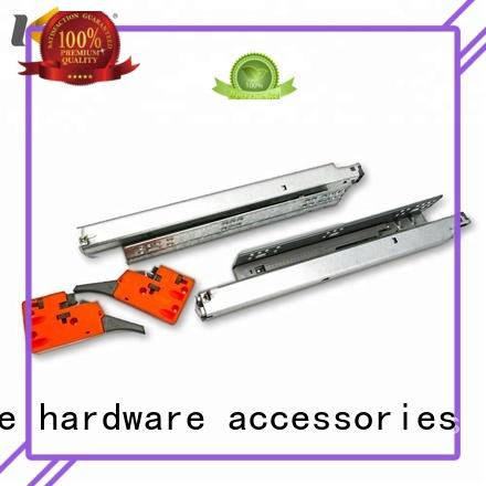 Top quality soft close full telescopic heavy duty concealed drawer slide rail