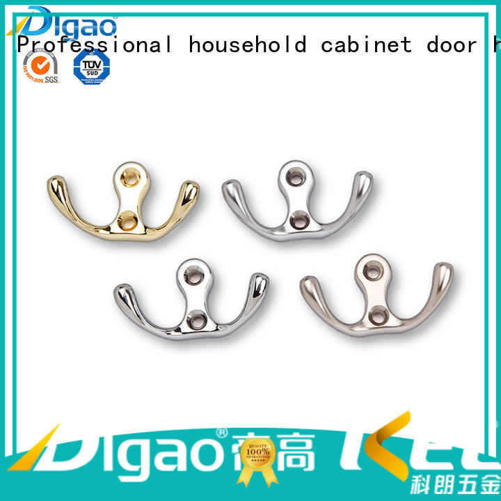 DIgao portable strong coat hooks metal bathroom coat