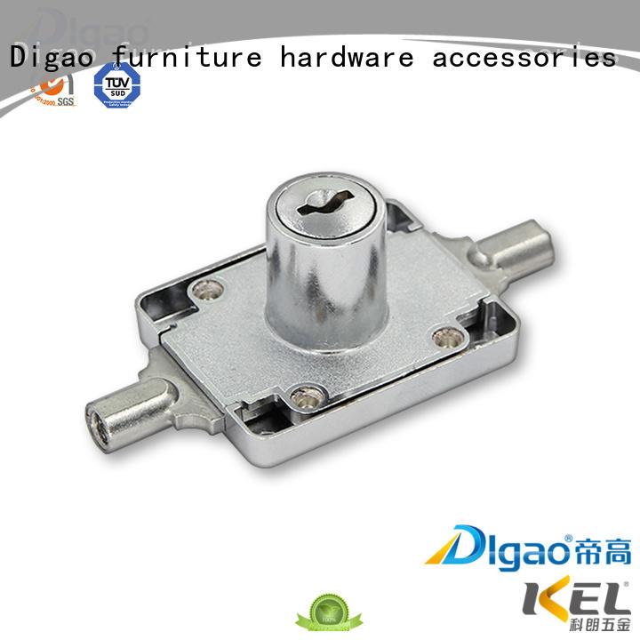 DIgao portable wardrobe door locks customization for push lock