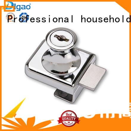 DIgao solid mesh display case lock plunger glass door lock