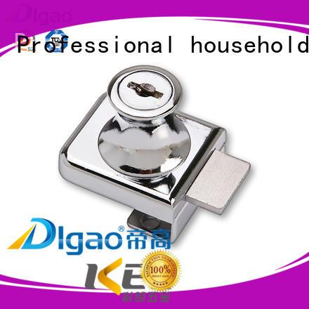 Digao 407 Zinc Alloy Furniture Showcase Single Swing Cabinet Glass Door Lock