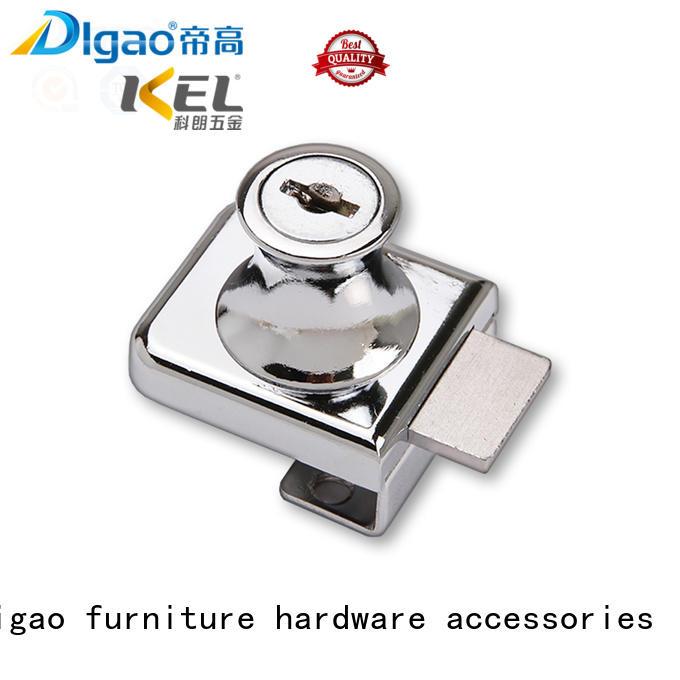 durable showcase lock key customization