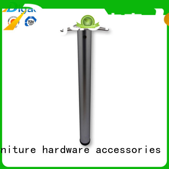 DIgao cabinet chrome table legs for wholesale office table