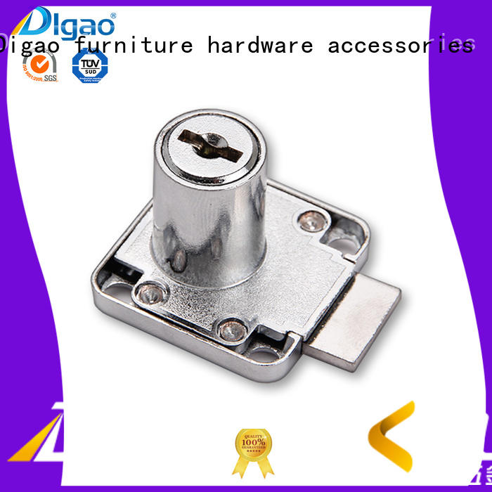 Office furniture pedestal metal drawer lock factory digao zinc iron drawer locks