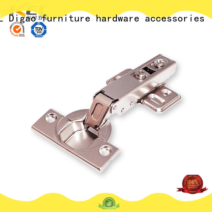 DIgao two self closing cabinet hinges for wholesale for furniture