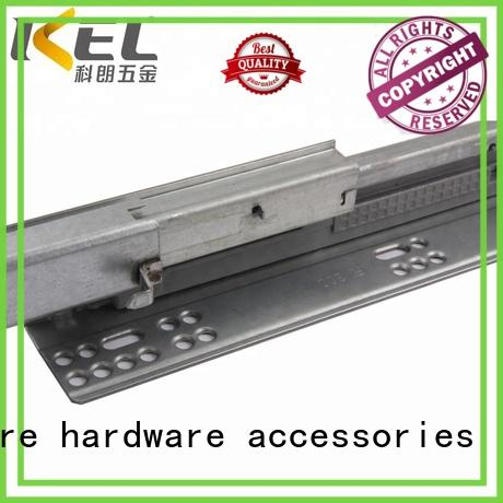 Breathable soft close drawer runners track OEM for drawer rails