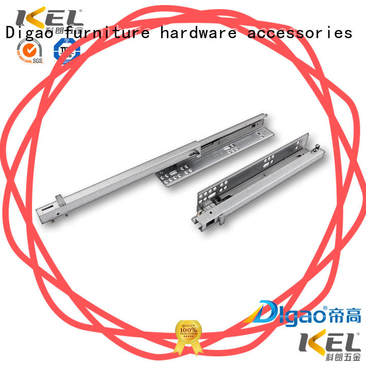 DIgao mounting soft close slides supplier for drawer rails