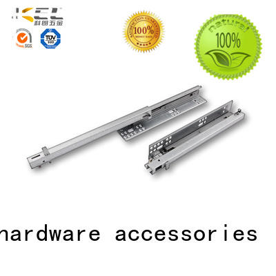 rails soft close slides customization for drawer