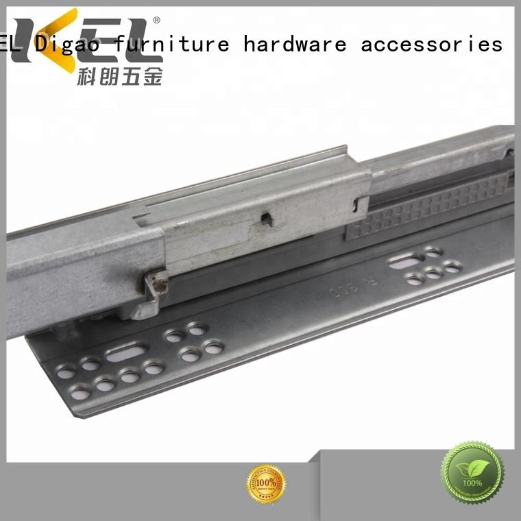 portable soft close drawers telescopic supplier for drawer
