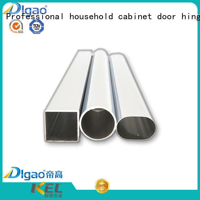 rounded wardrobe rail OEM Chrome Plated Furniture DIgao