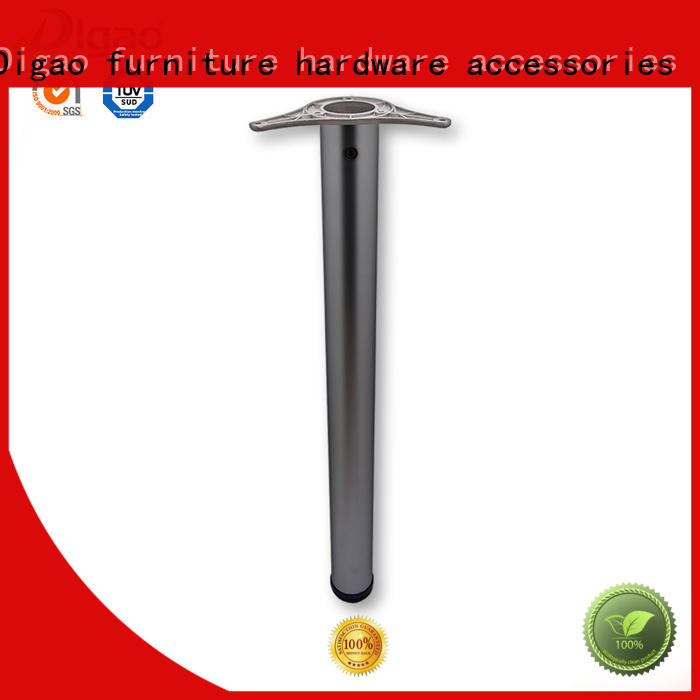 DIgao durable chrome furniture legs bulk production office table