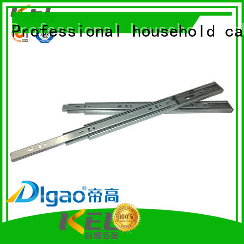 DIgao 3fold heavy drawer slides supplier for furniture