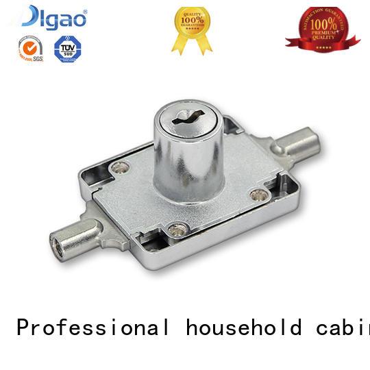DIgao solid mesh wardrobe lock free sample for push lock