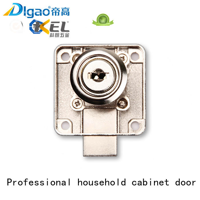 Zinc alloy metal 138 office desk drawer lock with computer key