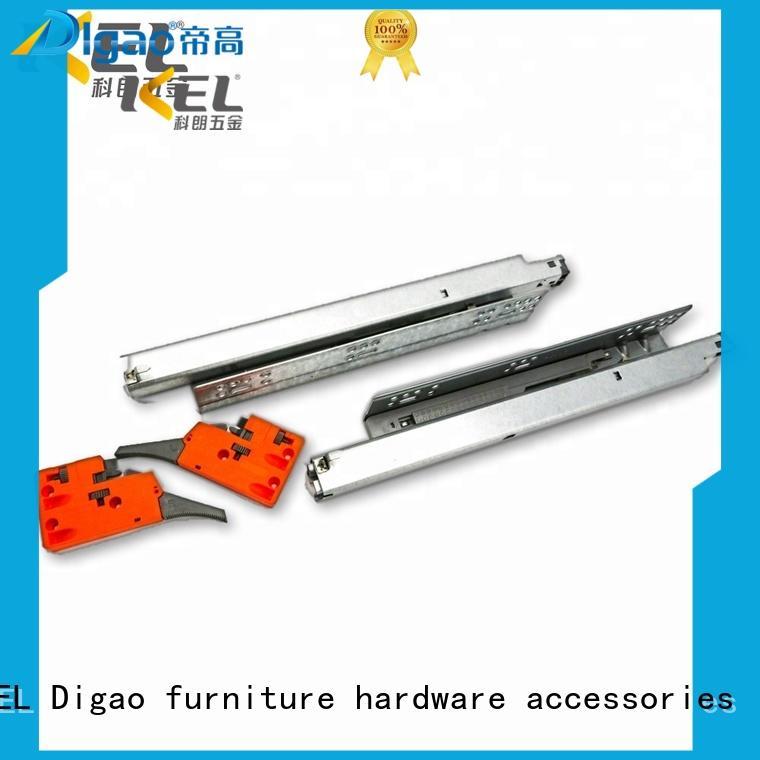 Breathable soft close drawer runners slide bulk production for drawer