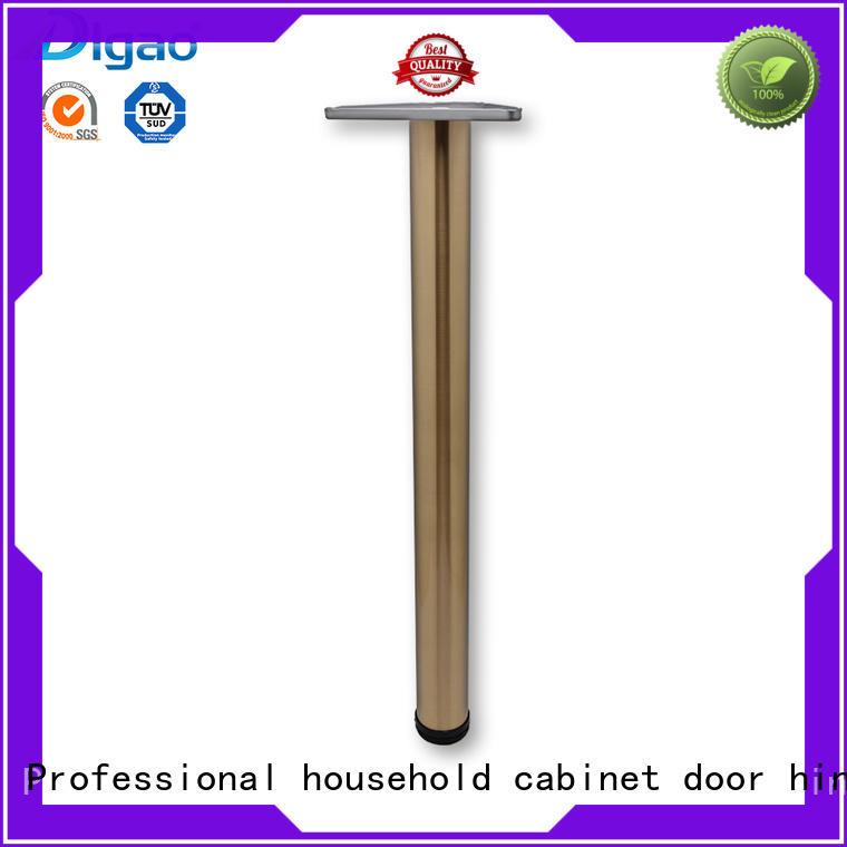 DIgao solid mesh chrome furniture legs OEM table leg