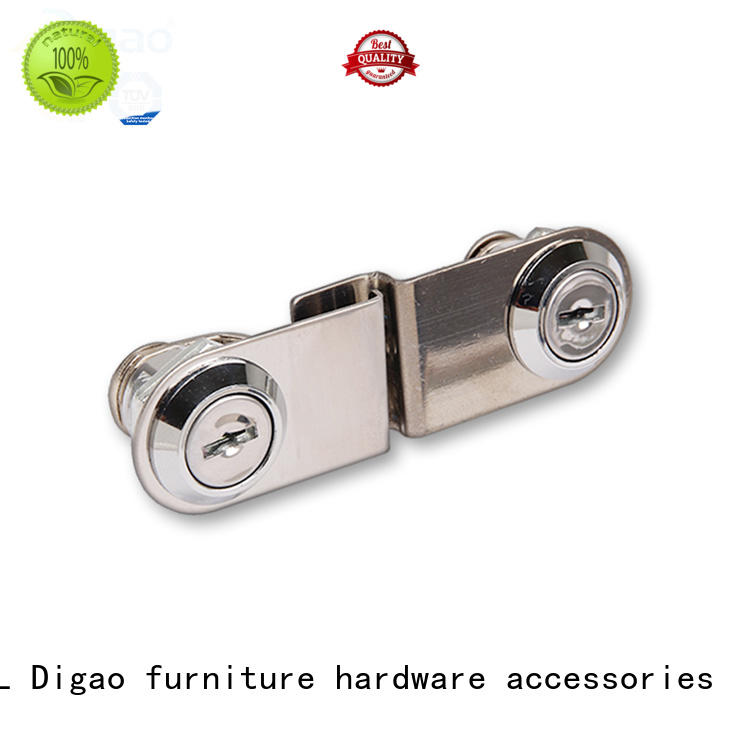 DIgao solid mesh display cabinet locks for wholesale drawer lock