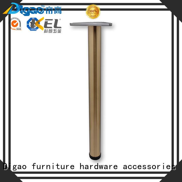 Breathablechrome furniture legs iron ODM table leg