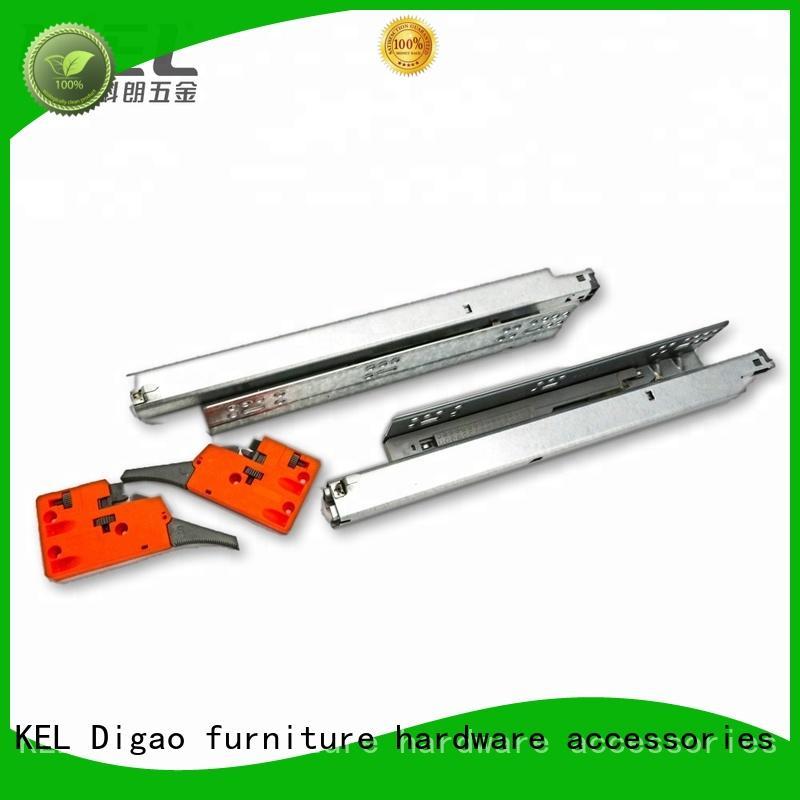 undermount soft close drawer hinges rail DIgao
