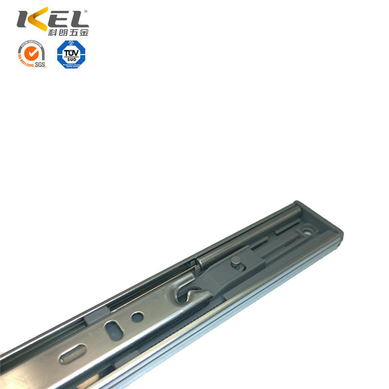 Classical Heavy Duty Telescopic 3-fold Soft Closing Ball Bearing Drawer Slide