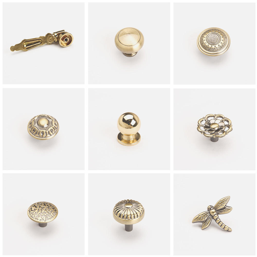 DIgao portable metal knobs for wholesale for furniture