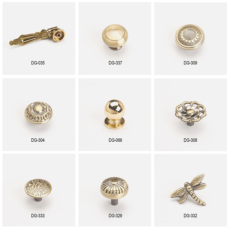 style metal knobs ODM for modern furniture-9