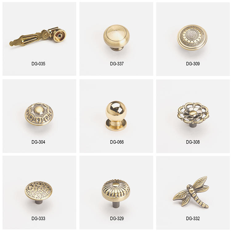 style metal knobs ODM for modern furniture