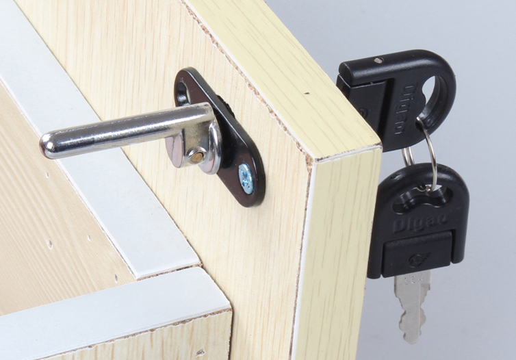 Breathable drawer lock lock ODM-9