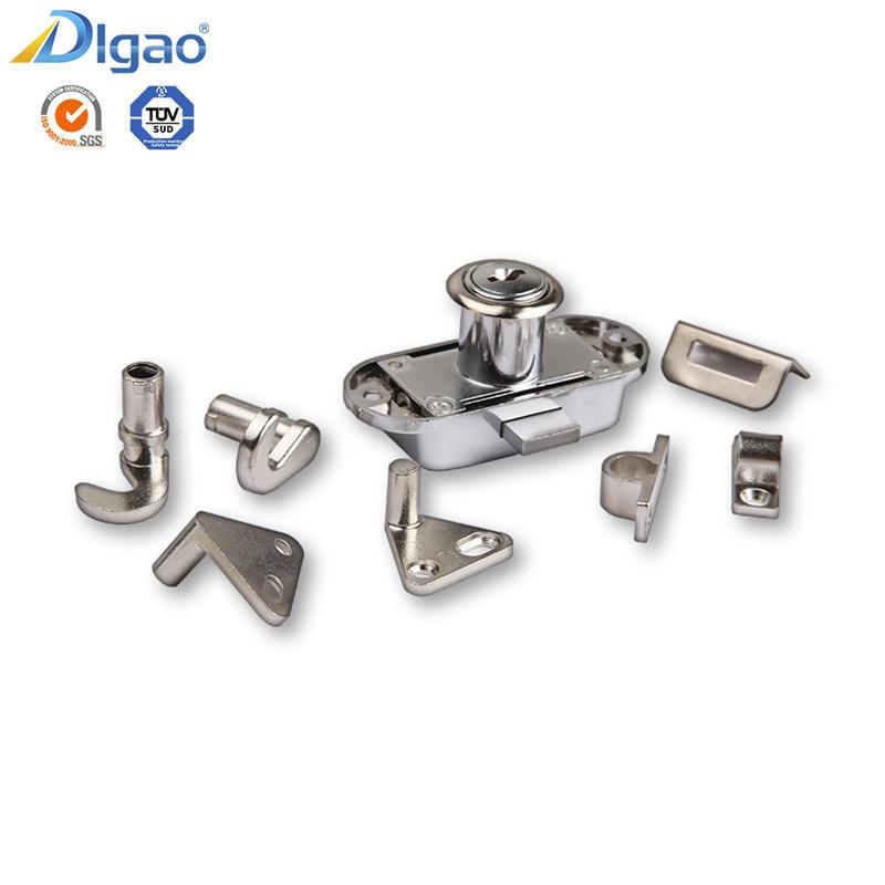 Rugged Safe 368 Zinc Alloy Furniture Wardrobe Rod Rotating Bar Lock