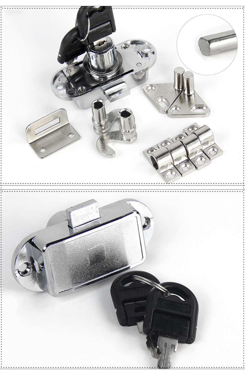 DIgao rod antique cabinet locks buy now for push lock-4