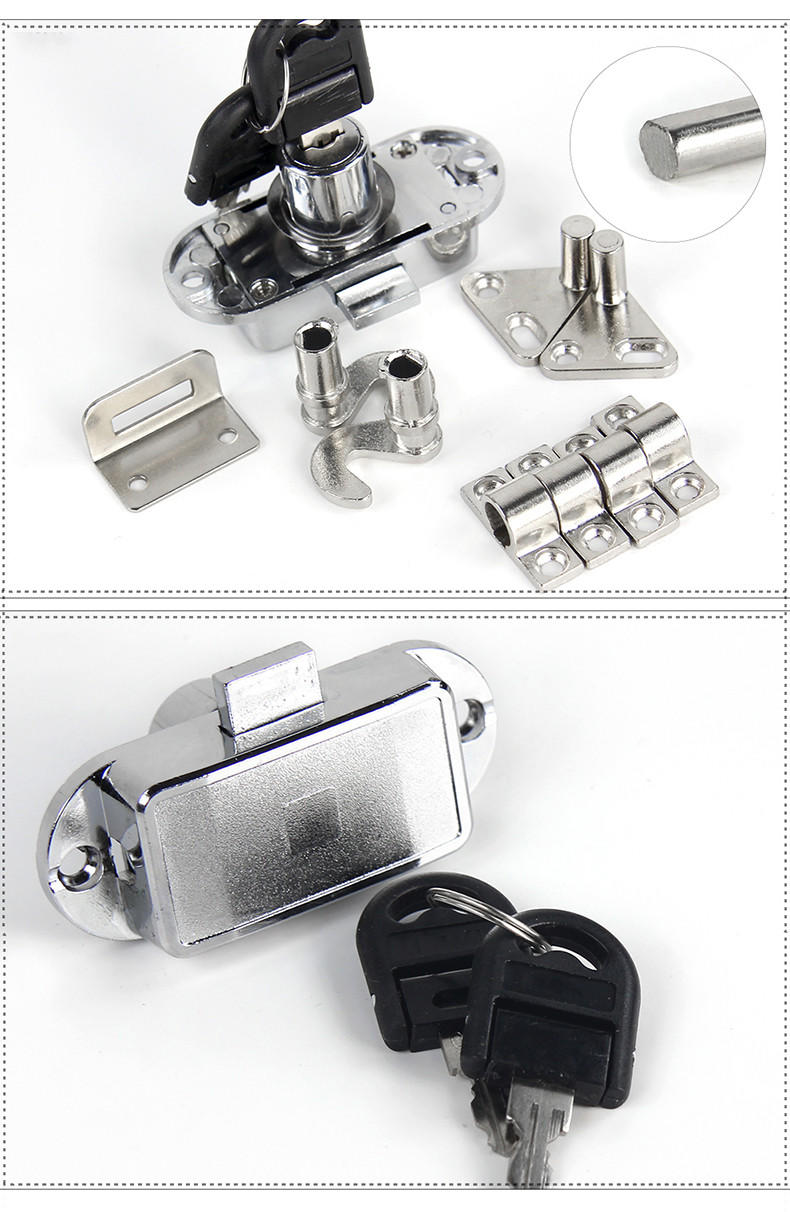 DIgao durable wardrobe locks and handles quality for push lock