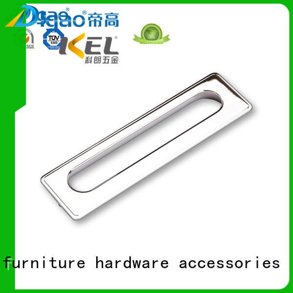 High Quality Zinc Alloy Metal Hidden Furniture Cabinet Drawer Handle