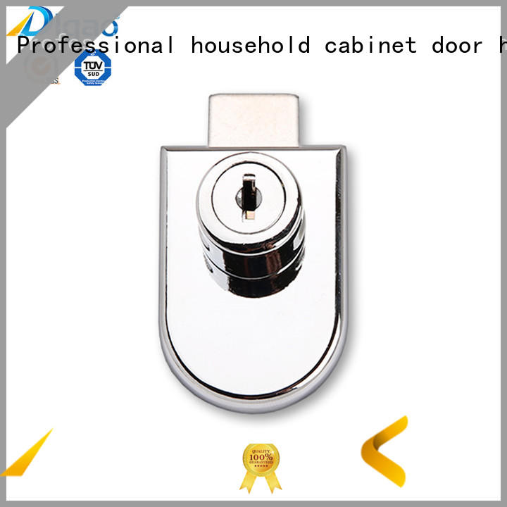 408 Zinc Alloy Furniture Showcase Single Swing Cabinet Glass Door Lock