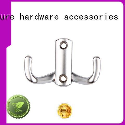 Wholesale Furniture hardware Zinc Alloy Metal bedroom bathroom Coat And Hat Wall Robe Clothes Hook