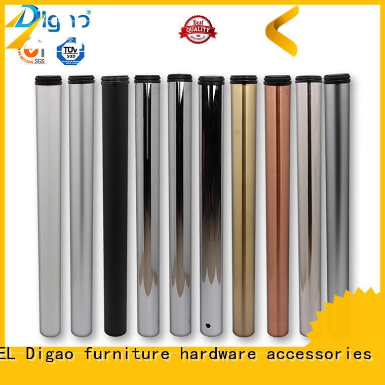 solid mesh Furniture Leg round OEM desk leg